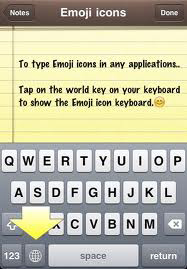 Emoji icons iphone keyboard