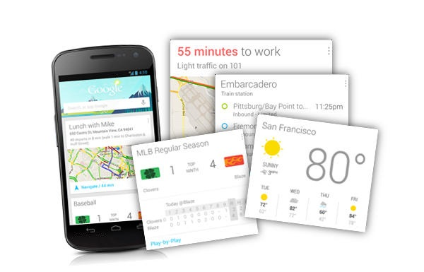 Google Now - Android Jelly Bean Features
