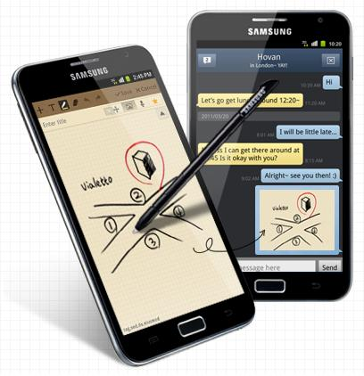 Samsung Galaxy Note - Samsung Galaxy Note 2 release