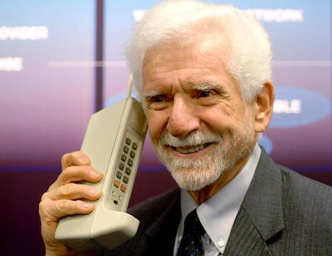 martin cooper inventor mobile phone