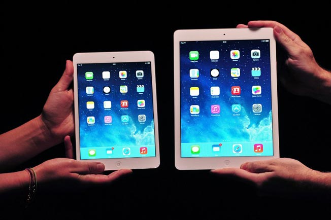 Apple iPad Air vs iPad Mini