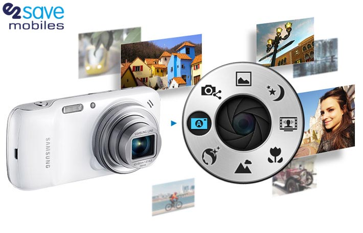 Samsung Galaxy S5 Zoom camera software features