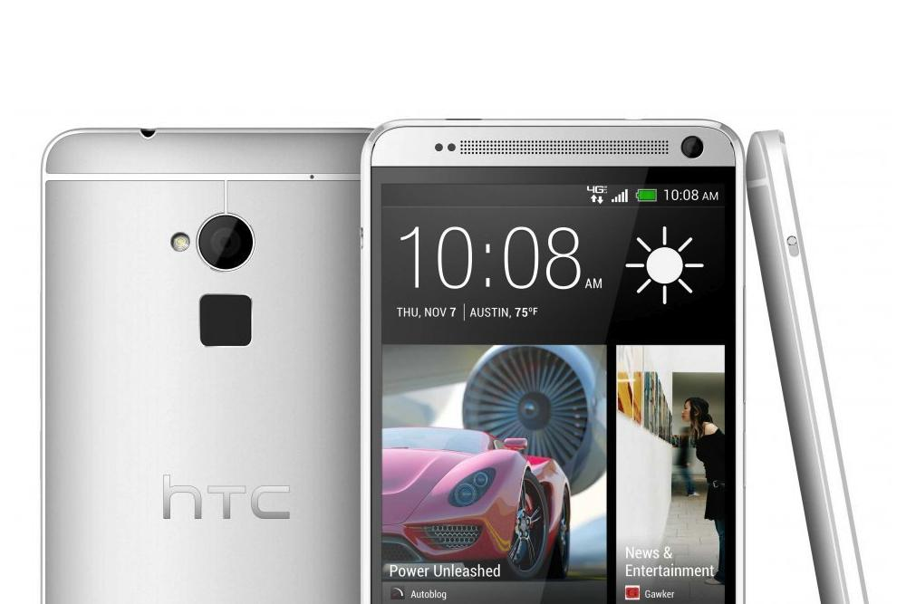 HTC One Max design