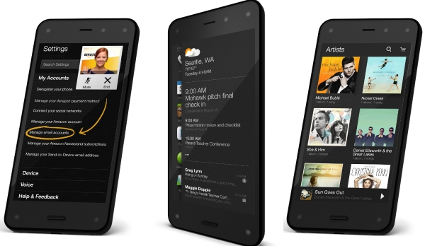 Amazon Fire Phone - 3D features