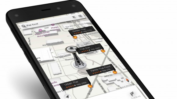 Amazon Fire Phone review - 3D screen
