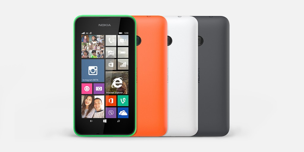 Nokia Lumia Mobile 530 & 520 Compared