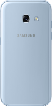Galaxy A3 2017 Blue (Back)