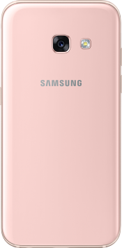 Galaxy A3 2017 Peach Cloud (Back)