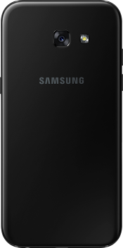 Galaxy A5 2017 Black (Back)