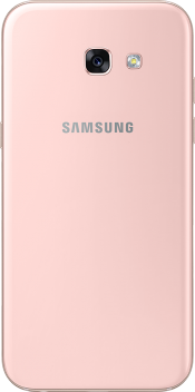 Galaxy A5 2017 Peach Cloud (Back)