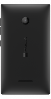Lumia 435 Black Refurbished (Back)
