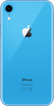 iPhone XR 128GB Blue Refurbished (Back)