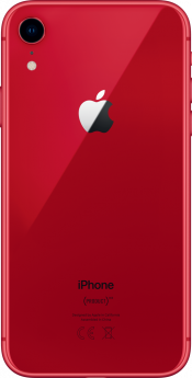 iPhone XR 128GB Red Refurbished (Back)