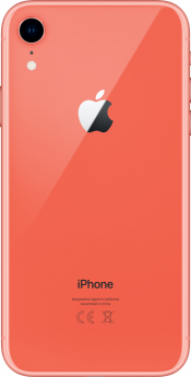 iPhone XR 64GB Coral Refurbished (Back)