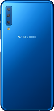 Galaxy A7 64GB Blue (Back)