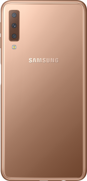 Galaxy A7 64GB Gold (Back)