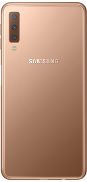 Galaxy A7 64GB Gold (Side)