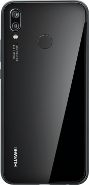 P20 Lite Black (Back)