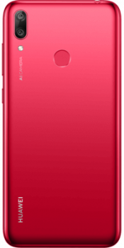 Y7 2019 32GB Red (Back)