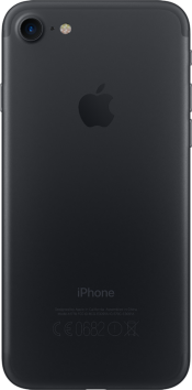 iPhone 7 128GB Black Refurbished (Back)