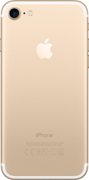 iPhone 7 128GB Gold Refurbished (Back)