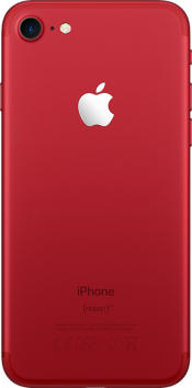 iPhone 7 128GB Product Red (Back)