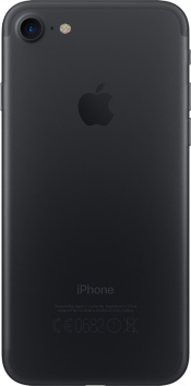 iPhone 7 32GB Black Refurbished (Back)