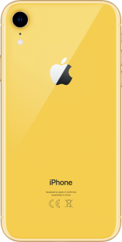 iPhone XR 256GB Yellow (Back)