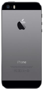 iPhone 5s 16GB Space Grey (Back)