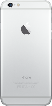 iPhone 6s 32GB Silver (Back)