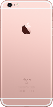 iPhone 6s Plus 128GB Rose Gold (Back)