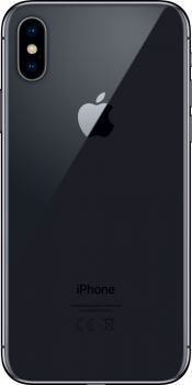 iPhone X 64GB Space Grey (Back)