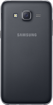 Galaxy J5 Black (Back)