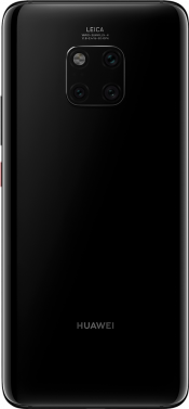Mate 20 Pro 128GB Black (Back)