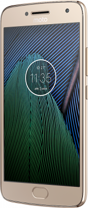 Moto G5 Plus Gold (Back)