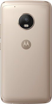 Moto G5 Plus Gold (Side)