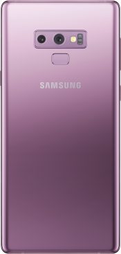 Galaxy Note 9 128GB Lavender Purple (Side)