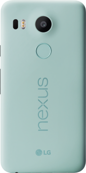 Nexus 5X 16GB Ice Blue (Back)