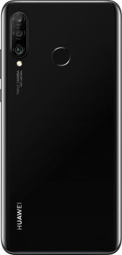 P30 Lite 128GB Black (Back)