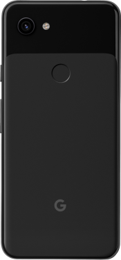 Pixel 3a 64GB Just Black (Back)