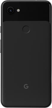 Pixel 3a XL 64GB Just Black (Back)