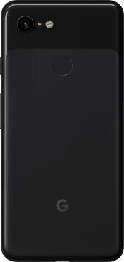 Pixel 3 64GB Just Black (Back)