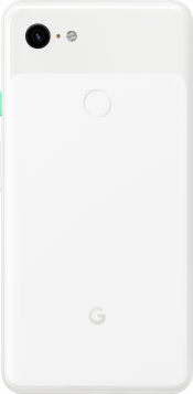 Pixel 3 XL 128GB Clearly White (Back)