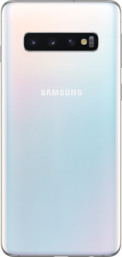 Galaxy S10 128GB Prism White (Back)