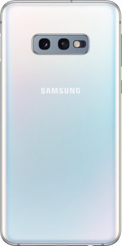 Galaxy S10e 128GB Prism White (Back)