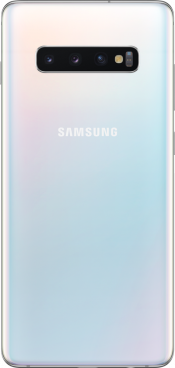 Galaxy S10+ 128GB Prism White (Back)
