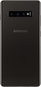 Galaxy S10+ 512GB Ceramic Black (Back)