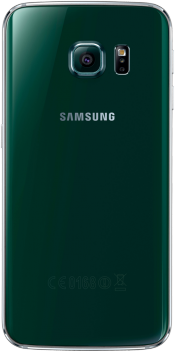 Galaxy S6 edge 128GB Green (Back)
