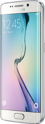 Galaxy S6 edge 32GB White (Side)