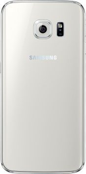 Galaxy S6 edge 64GB White (Back)